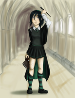 .::Little lost Slytherin::. by FEuJenny07