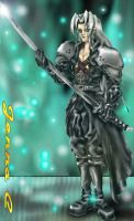 Sephiroth - old art by Seferia