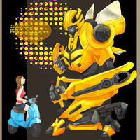 BUMBLEBEE by Lhax