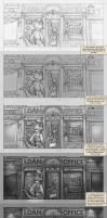 Lackadaisy Process by tracyjb