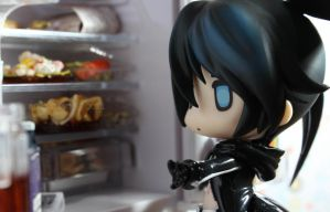Black Rock Shooter: Snack Time by kixkillradio