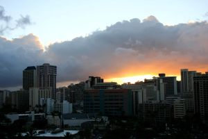 Honolulu Sunrise by Alcina-von-Yume