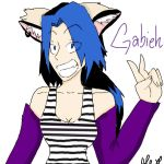 Gabieh for Athena-Shadow by lola13emily23