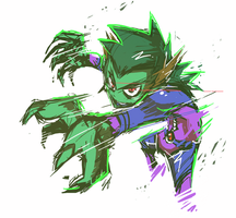 beast boy by Mr5star