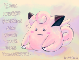 Clefairy by AxMongrel