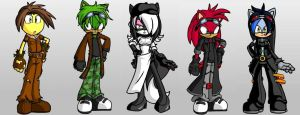 Team Up: Team Outcasts by rydia552