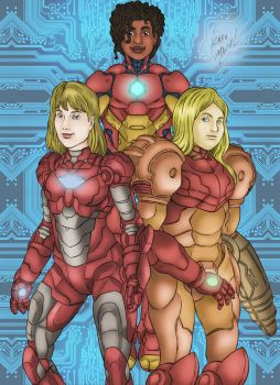 Women In Armor by elchavoman