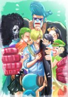 Nakama will always stand by your side. by shevoj