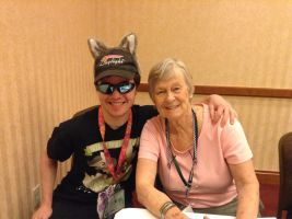 Me and Bonnie Zacherle  by TaionaFan369