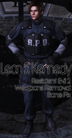 Leon Kennedy RPD FIXED by a-m-b-e-r-w-o-l-f
