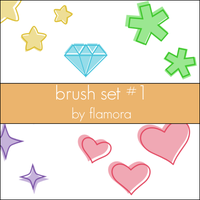 PS Brush Set One. by flamora