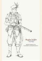 Regular Soldier - First Phase by bmesias063