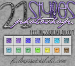 Styles Photoshop glitter by FeelingsSuicial