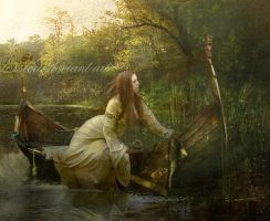 Lady of Shalott by esstera
