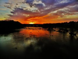 James River Sunset by Stone1980