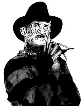 Freddy Krueger by Flxrence