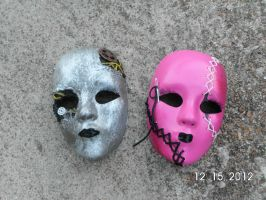 Our Hollywood Undead Masks by HUKissy