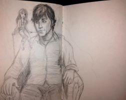 Teague and Cailin Sketch by Obsess-Confess