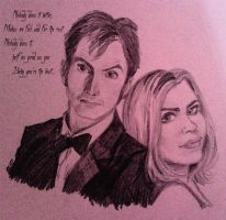 The Doctor and Rose by Lovelyruthie