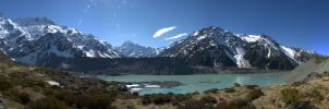 Mount Cook by partoftime