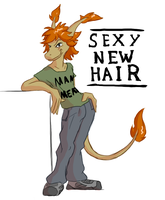 Sexy new Hair by Morgoth883