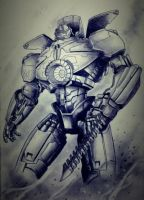 Pacific Rim's Gipsy Danger by richardbue