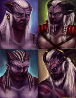 Kossith Characters compilation by Nosephire