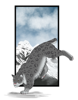 Snow Leopard by ShapeShifter314