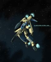 Robotech: Logan, Black Lion VI by LeElf