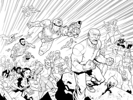 Inv 27 double page spread by RyanOttley