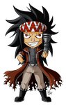 Iron Chibi Slayer by ZombieGirl01
