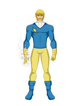 Dreadstar, segundo uniforme. by All10