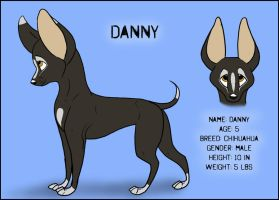 CC - Danny Reference by German-Shepherd-Girl