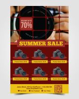 Summer Sale Flyer by pascreative