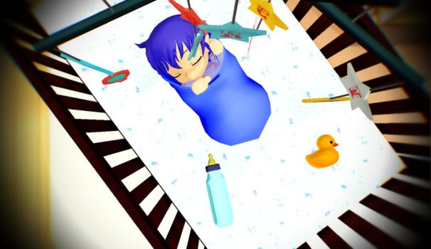 Sleeping Baby by FNAFNIGHTCORE1987