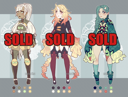 [CLOSED] Half-demon Auctions | sold out by Valkymie