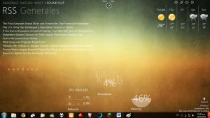 Omnimo rainmeter desktop by Aennima