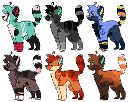 Canine or Feline Adoptables [OTA, 5/6 Open] by Mulch-Adopts