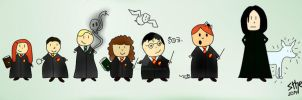 Repost - Harry Potter characters. by MissWeasleyJB