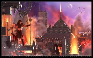 New Gods Of Industrial Fire by Fredy3D