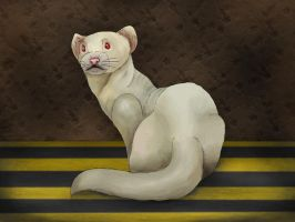 Ugly white rodent - HA by EquineRibbon