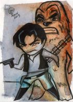 han and chewie by saltygirl