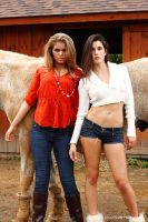 Stable girls 2 by JimOKeefePhotography