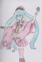 Vocaloid - Miku (Senbonzakura) by SwiftNinja91