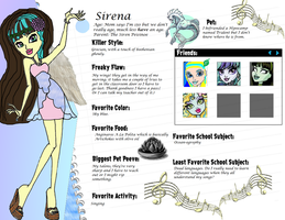 Sirena Profile by Dreams-to-Words