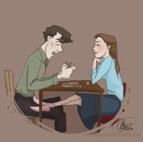 30DOTP-Sherlolly-Day3-Gaming by lexieken