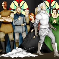 Game of Thrones - Sansa V. by Hed-ush
