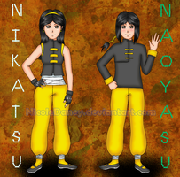 Nakamihi Twins-15years old ref by NicoleDaney