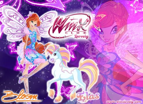 Winx Club season 7: Bloom Butterflix and Elas by WinxLovely