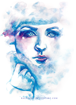 Day 1b: Girl in winter by Ralenore